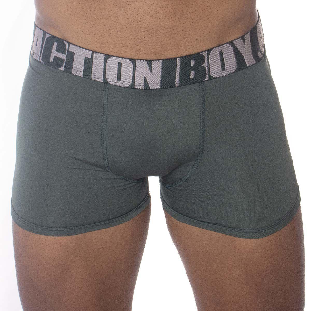 Kit com 6 cuecas Boxer em Algodão marca Action Boy
