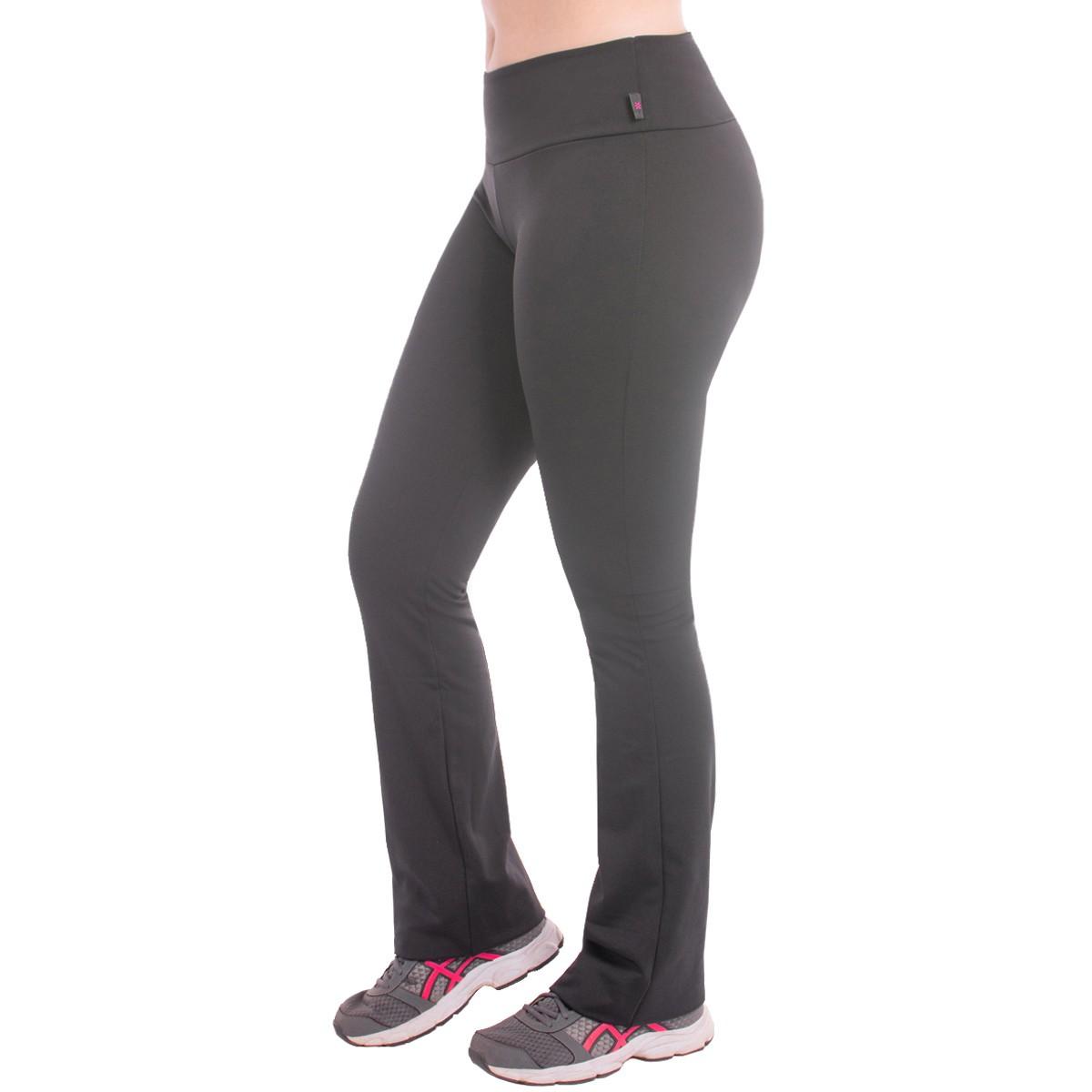 Kit com 7 Calças Legging Feminina Bailarina Peluciada Flare