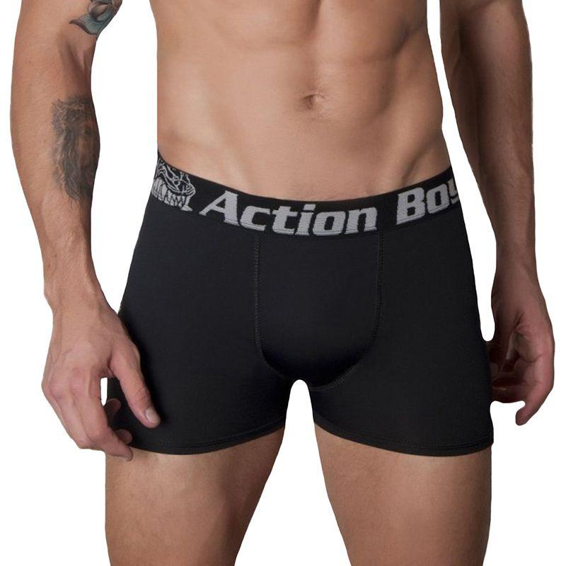 Kit com 10 Cuecas Boxer em  Algodão - Marca Action Boy