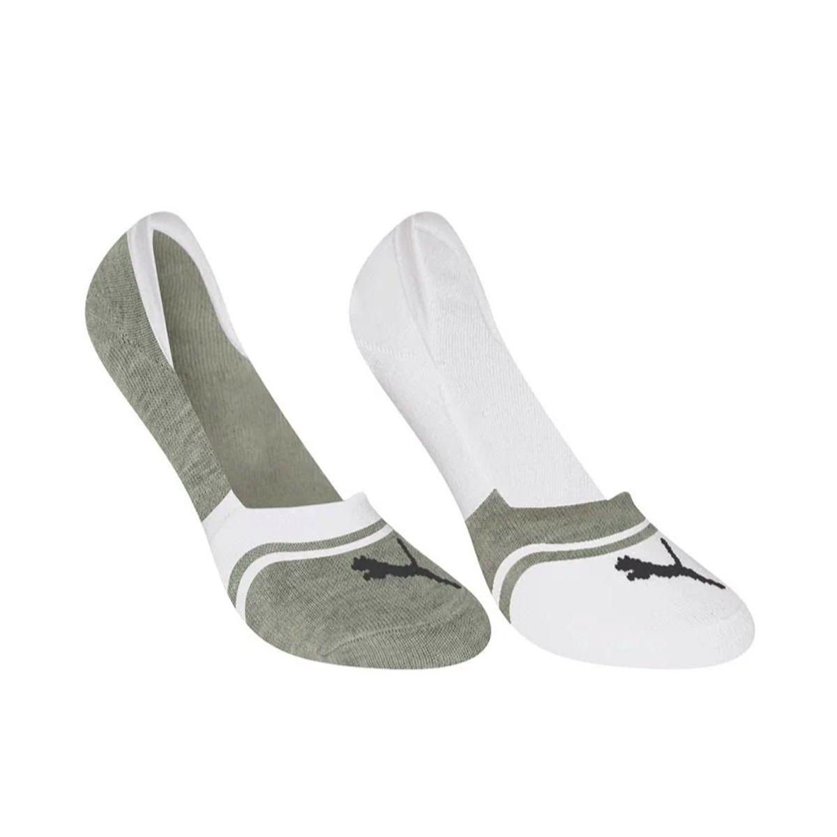 Kit de 2 pares de meias invisível masculina Selene
