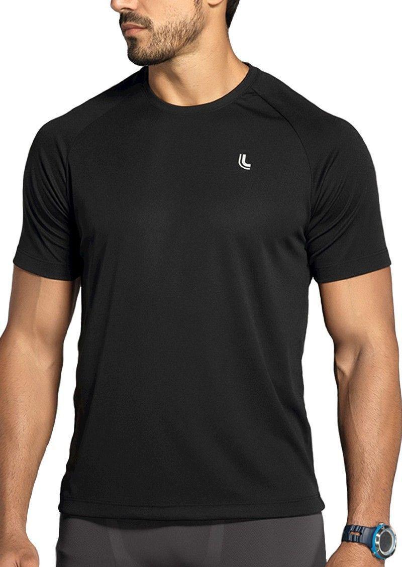 Camiseta masculina fitness Lupo - Para Prática de esporte e musculação