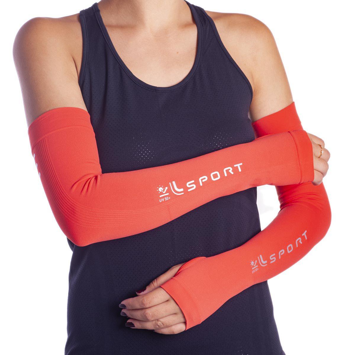 Manguito proteção para o braço esporte ciclismo unissex Lupo  -