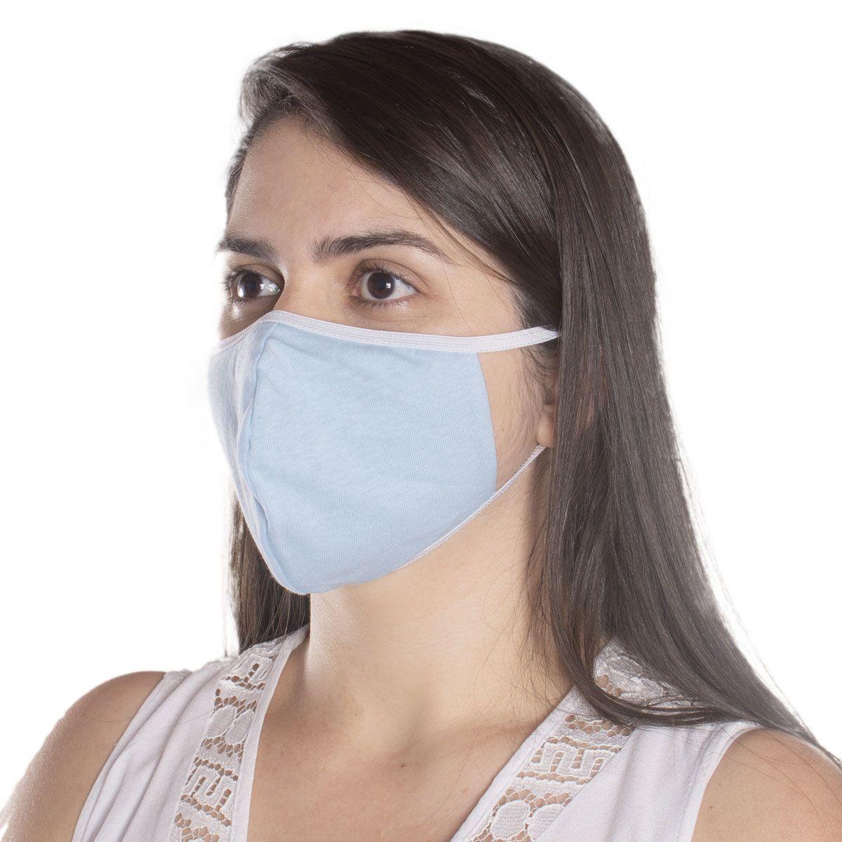 Kit com 10 Máscaras de Proteção Ninja em Algodão Reutilizável