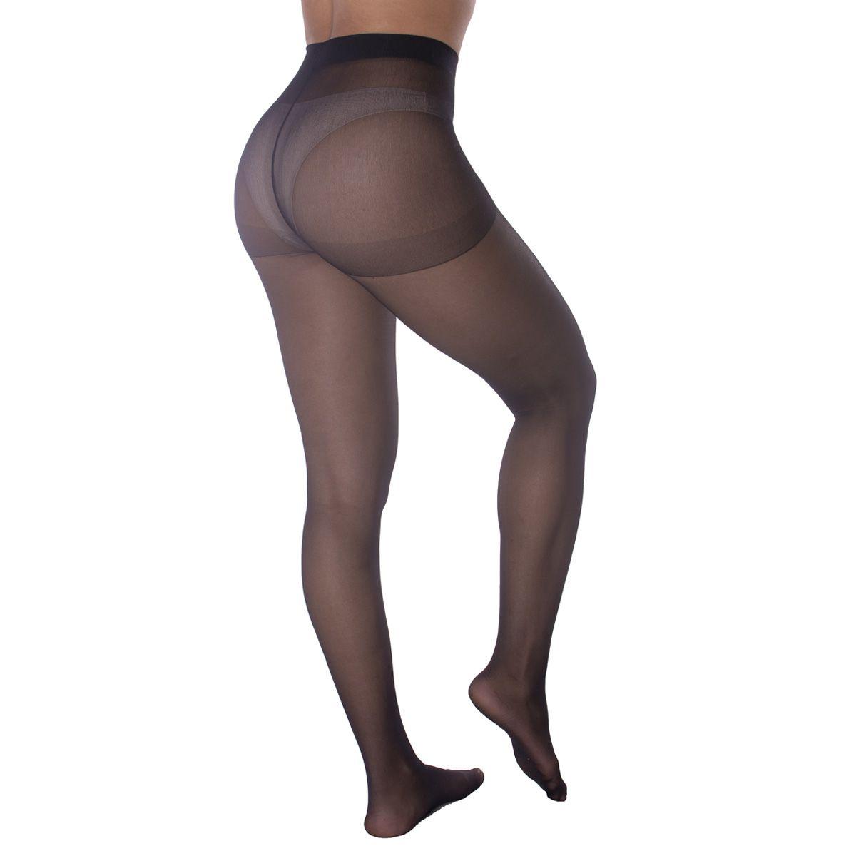 Meia calça básica fio 15 Selene