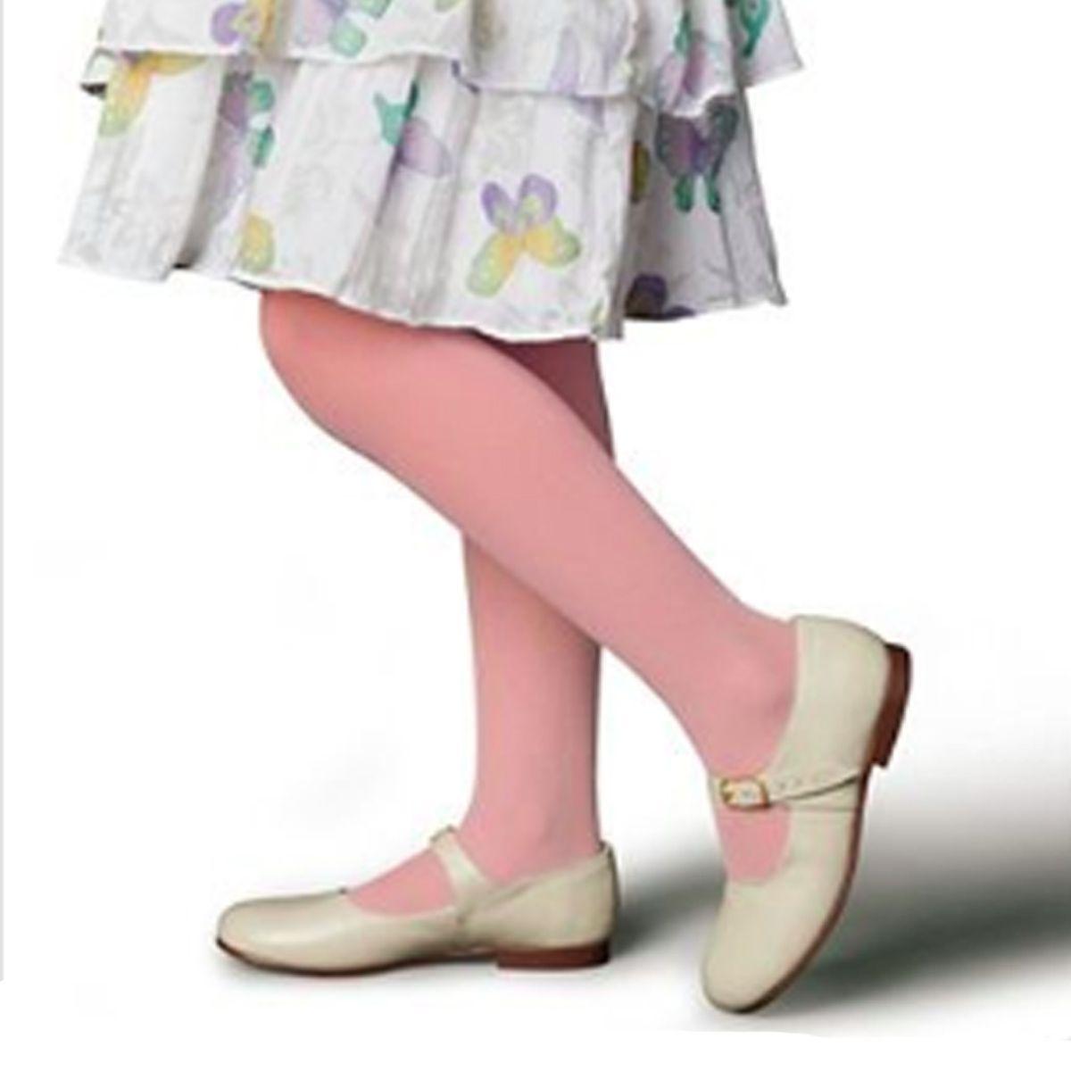 Meia calça básica infantil fio 20 Selene