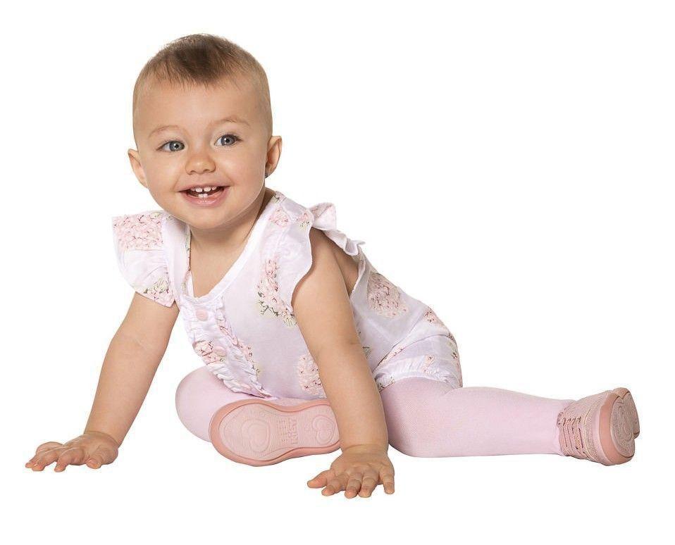Meia calça bebê infantil grossa fio 80 kit 3 Lobinha Lupo