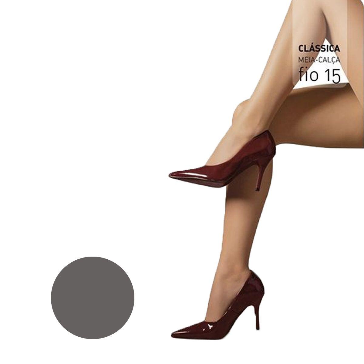 Meia Calça Clássica Fio 15 Selene