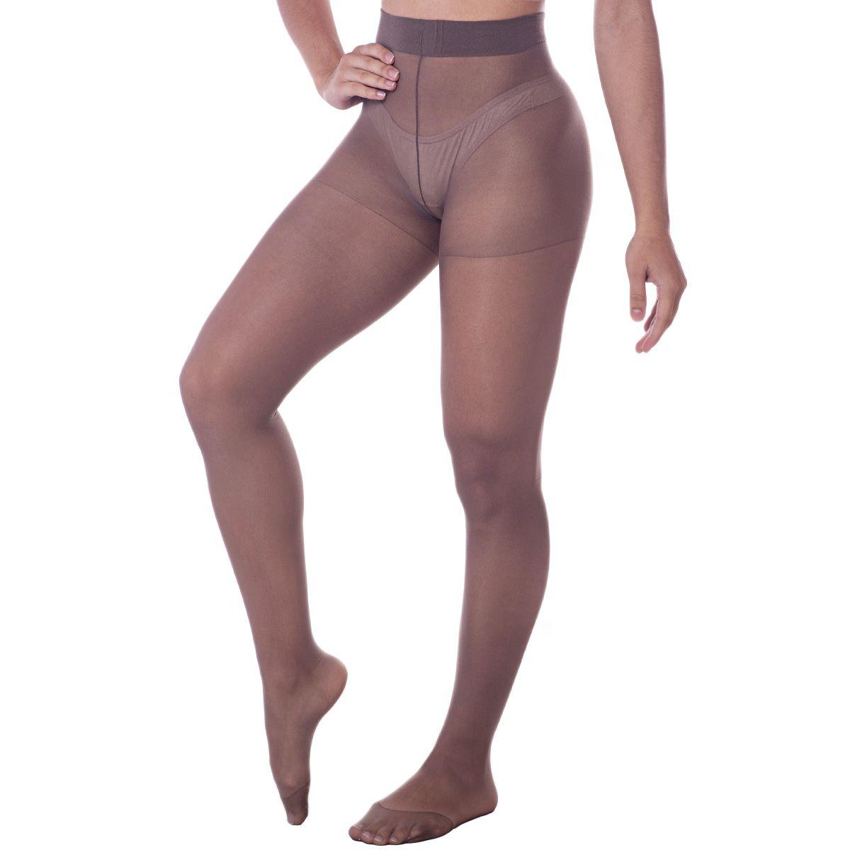 Meia Calça Feminina Adulto Modelo Clássica Adherence Fio 15 Trifil