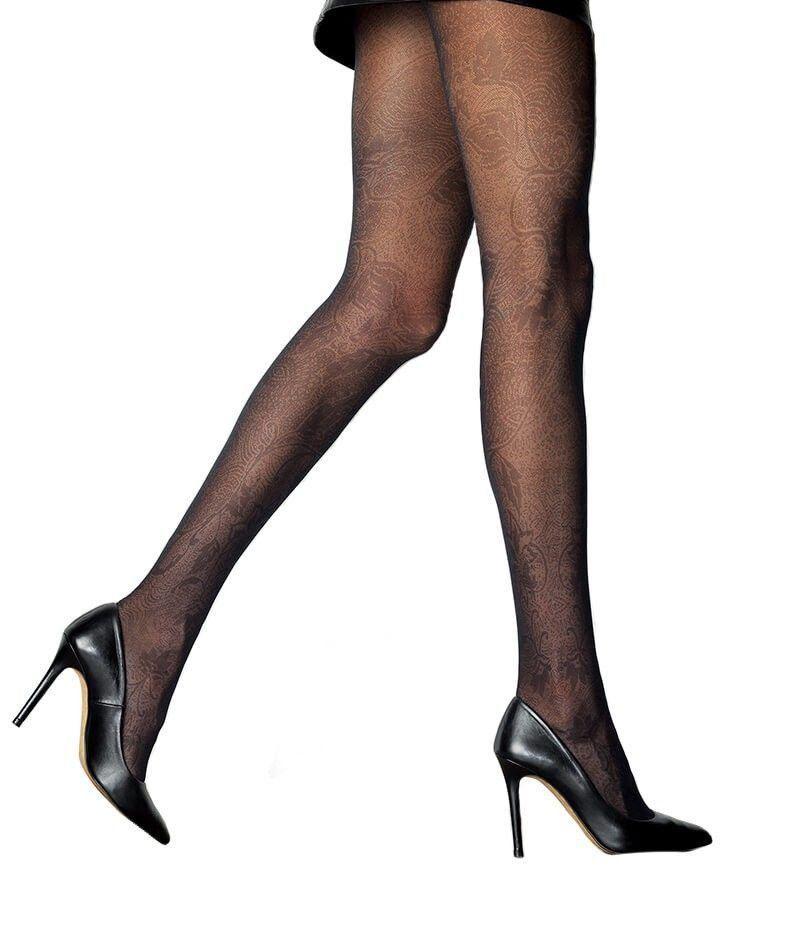 Meia calça fio 30 modern estampada Loba Lupo