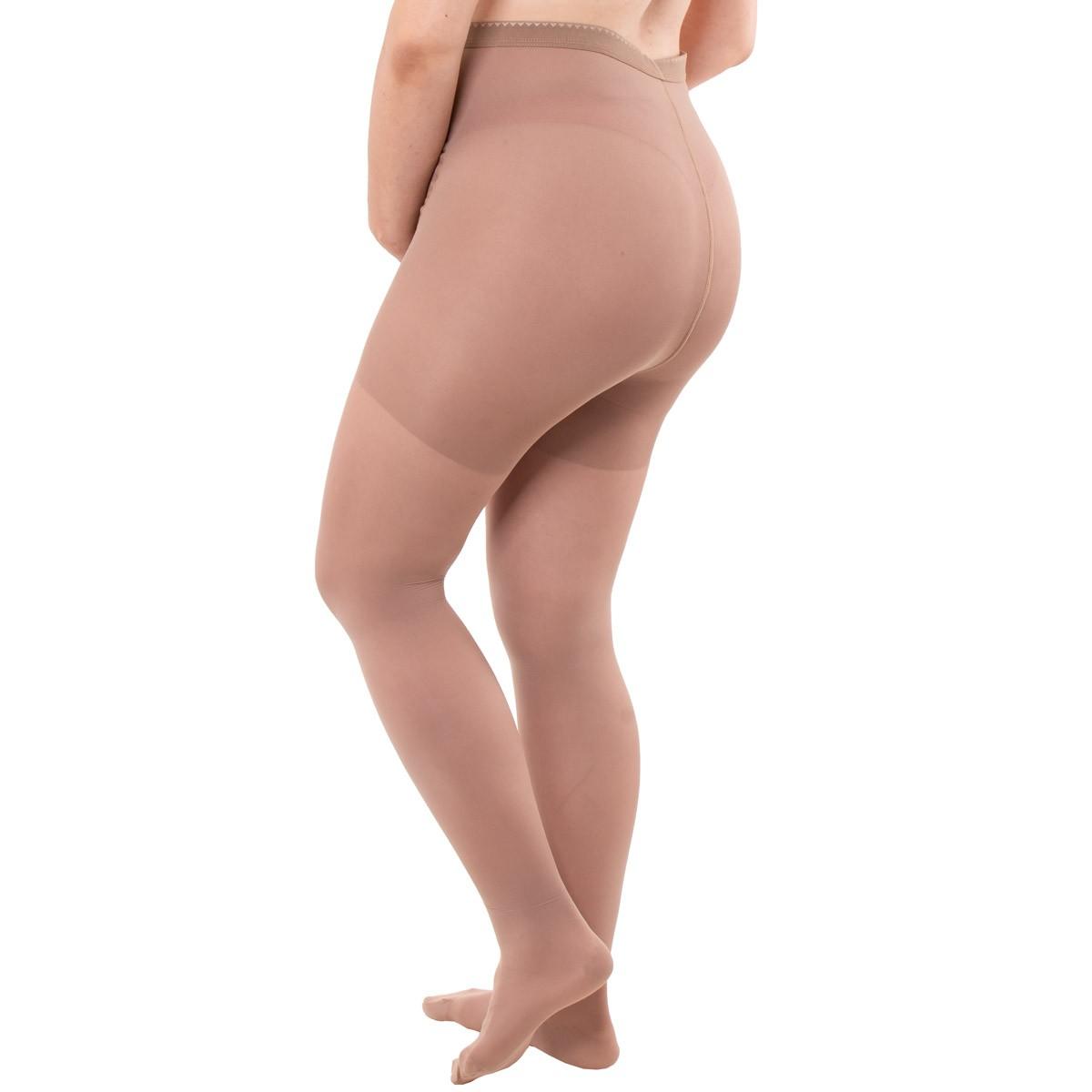 Meia calça gestante com média compressão Kendall