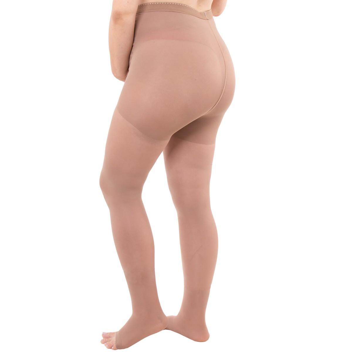 Meia calça gestante com média compressão sem ponteira Kendall