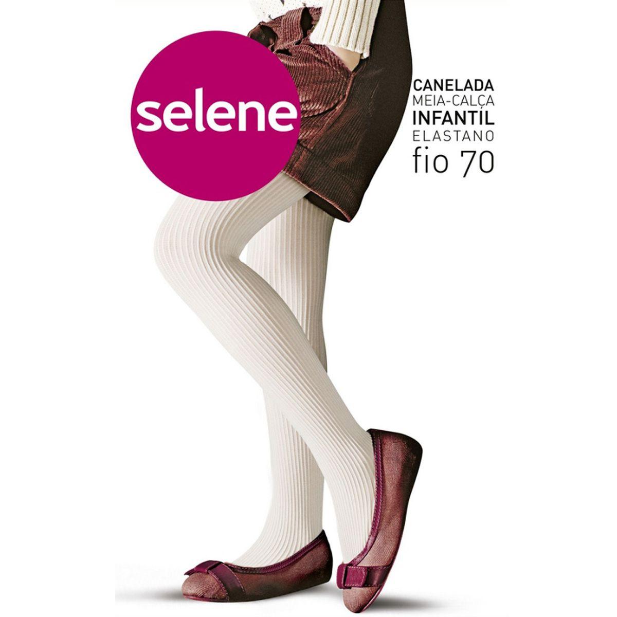 Meia calça infantil fio 70 Selene