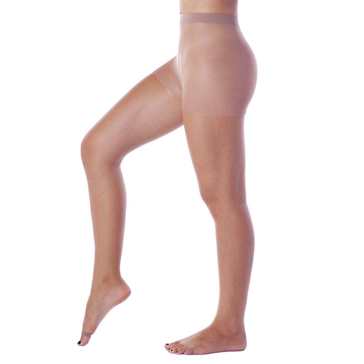 Meia Calça Invisível Dedos Livres Fio 7 Loba
