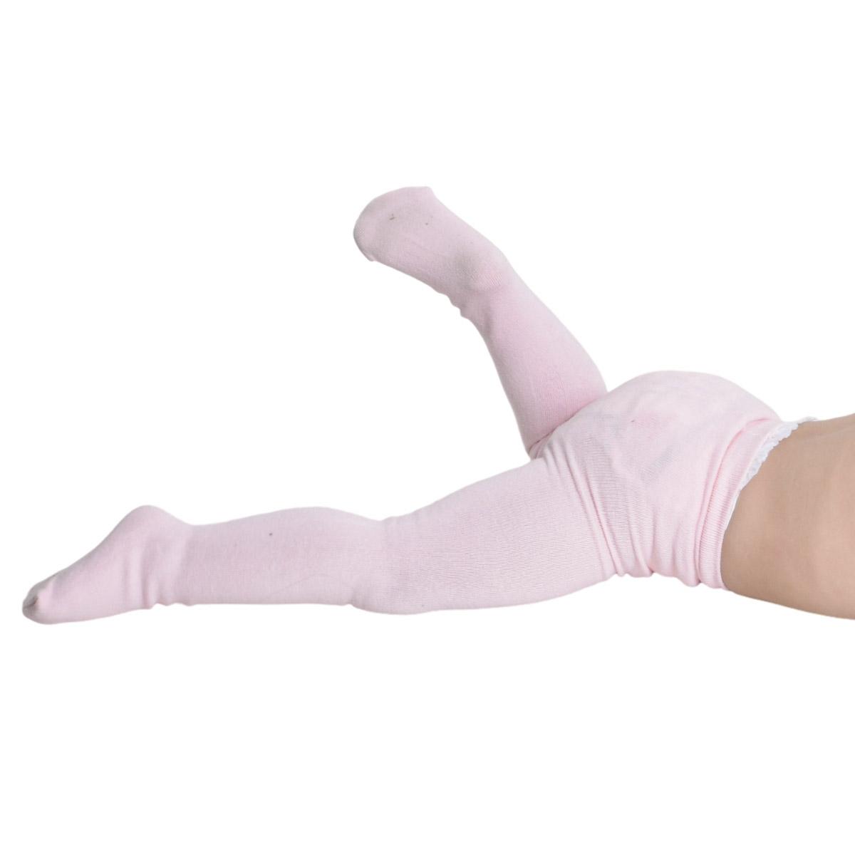 Meia calça para menina de bebê em algodão Trifil