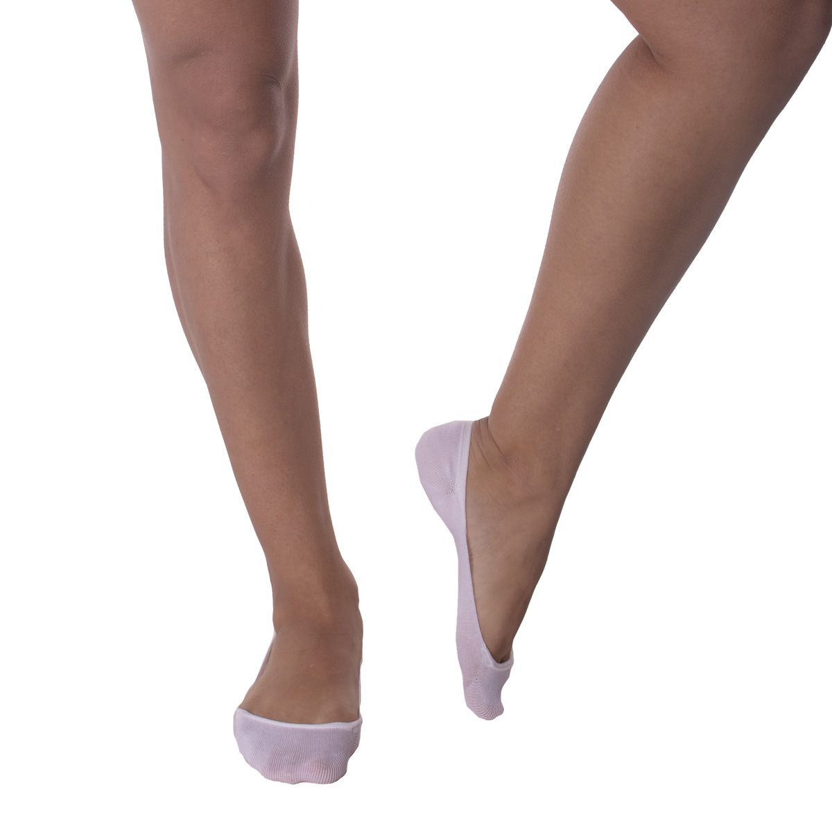 Meia feminina sapatilha super invisível Selene