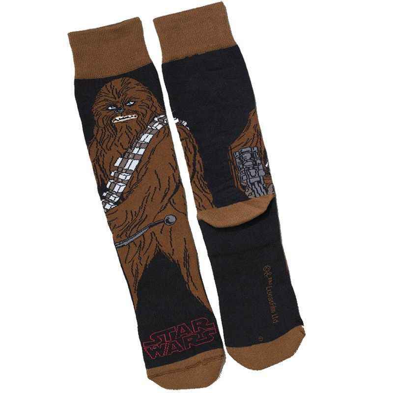 Meia Lupo Urban Cano Alto Estampada Star Wars Chewbacca Ref 16907-011