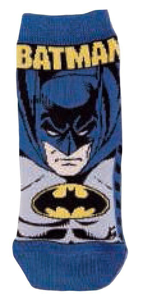 Meia masculina cano curto infantil Batman Lupo