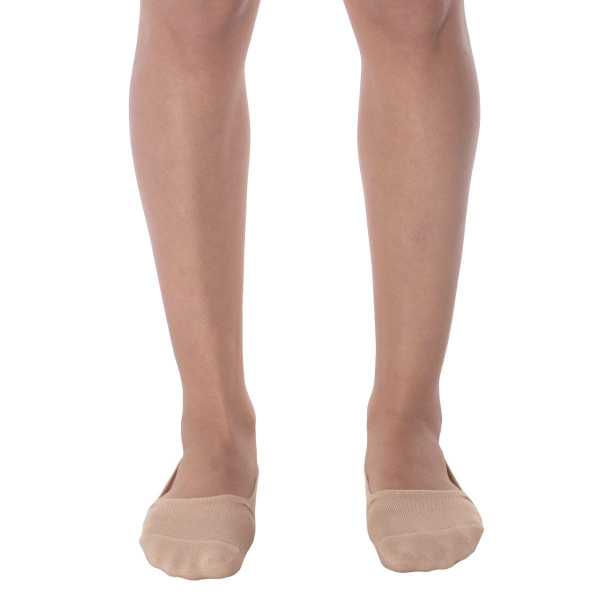 Meia sapatilha invisível feminina Selene