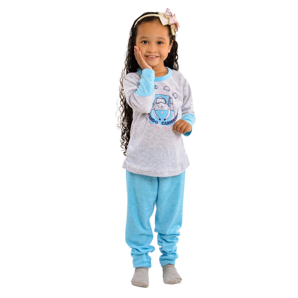 Pijama BABY para menina de inverno plush SOPHIA Victory