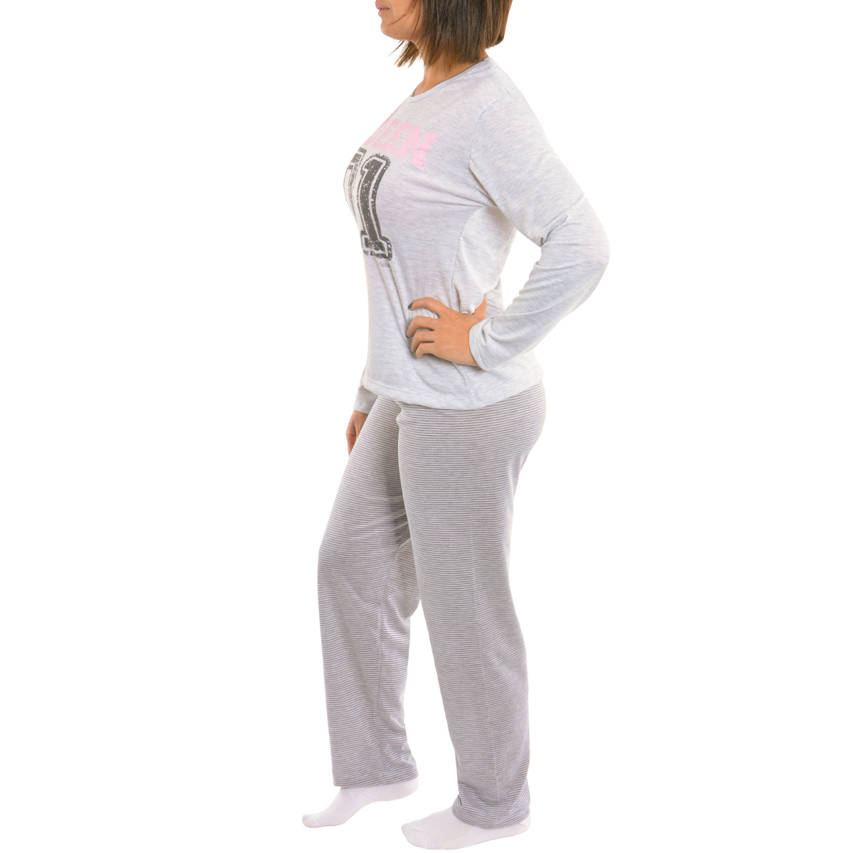 Pijama Coleção Família Mãe de inverno Victory