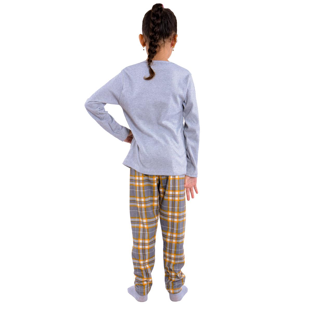 Pijama de inverno Coleção Família filha menina Victory