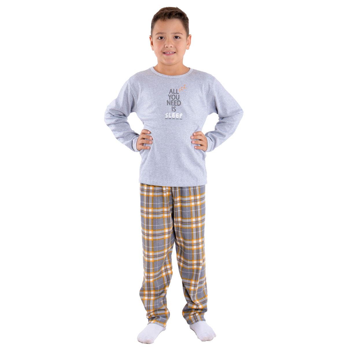 Pijama de inverno Coleção Família filho menino Victory