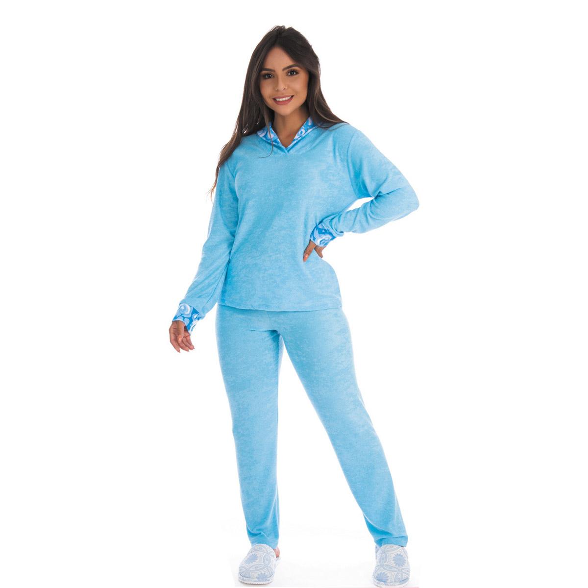 Pijama de inverno feminino CLASSIC Victory