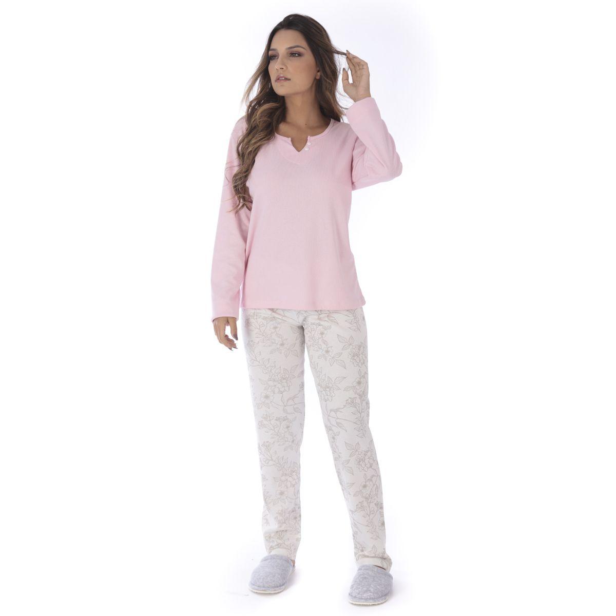 Pijama de inverno feminino MADAM Victory