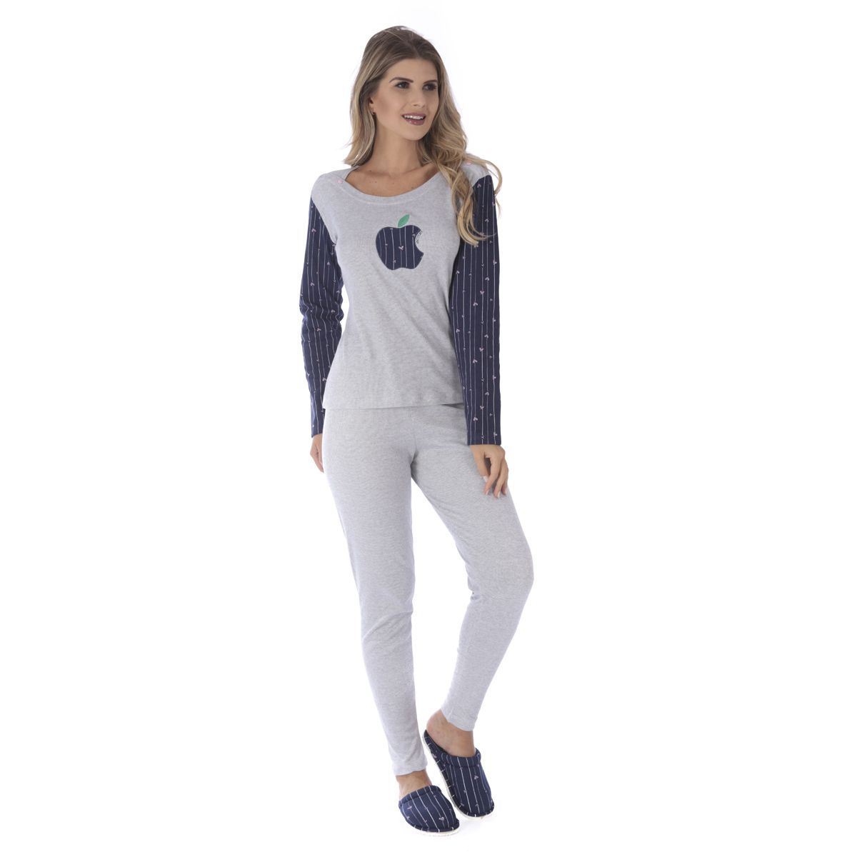 Pijama de inverno feminino SLIM Victory