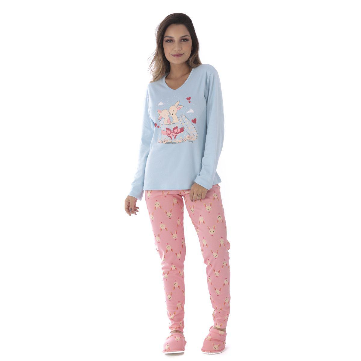 Pijama de inverno feminino SWEET Victory