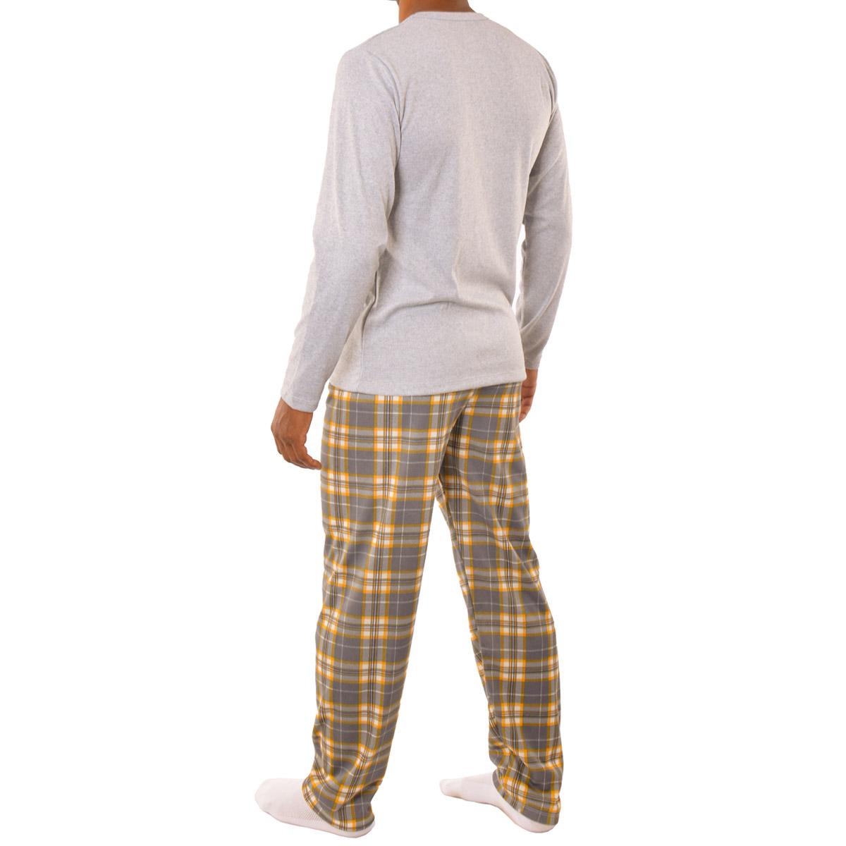 Pijama de inverno masculino Coleção Família Pai Victory