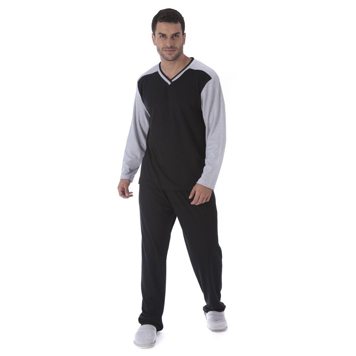 Pijama de Inverno Masculino ESTILO Victory