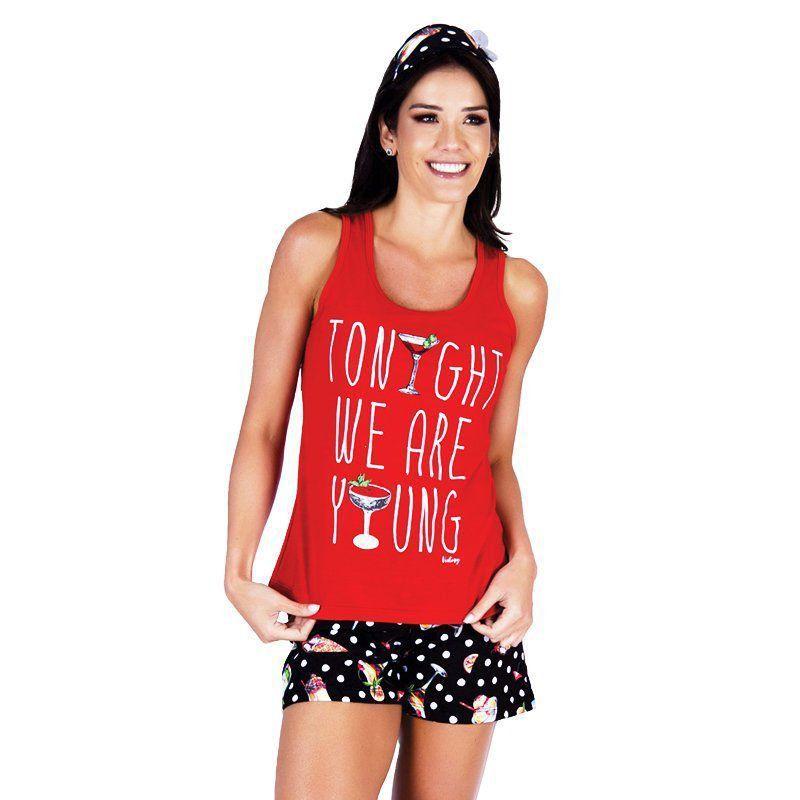 Pijama de Verão Feminino Nadador Victory