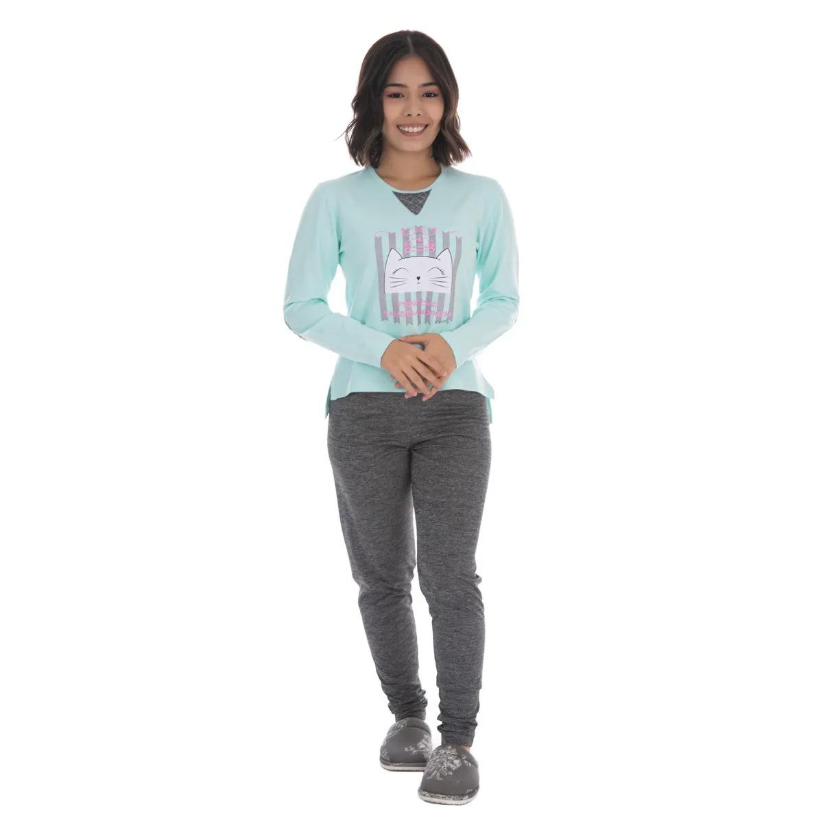 Pijama juvenil para menina de inverno ELEGANCE Victory