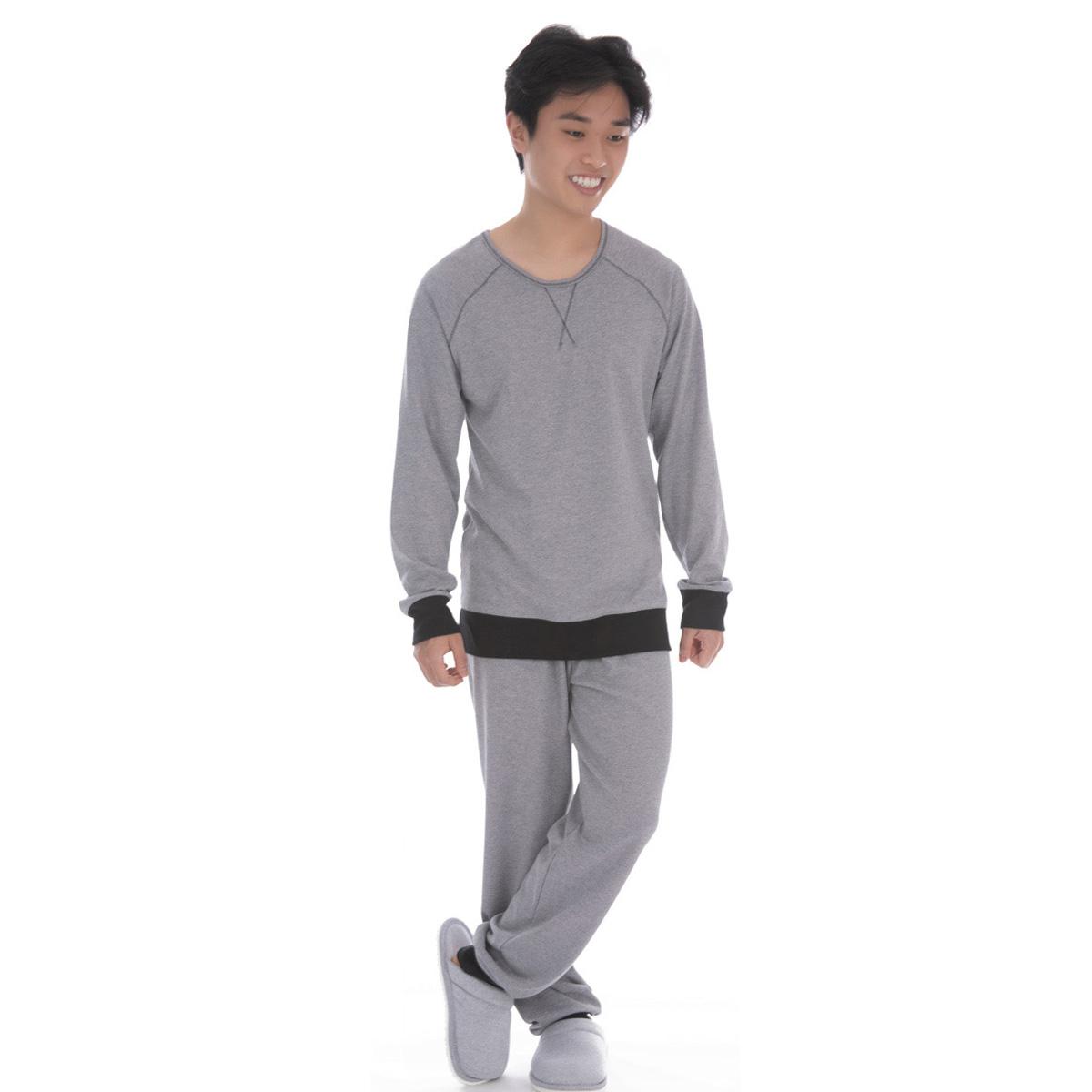 Pijama juvenil para menino de inverno ESTILO Victory