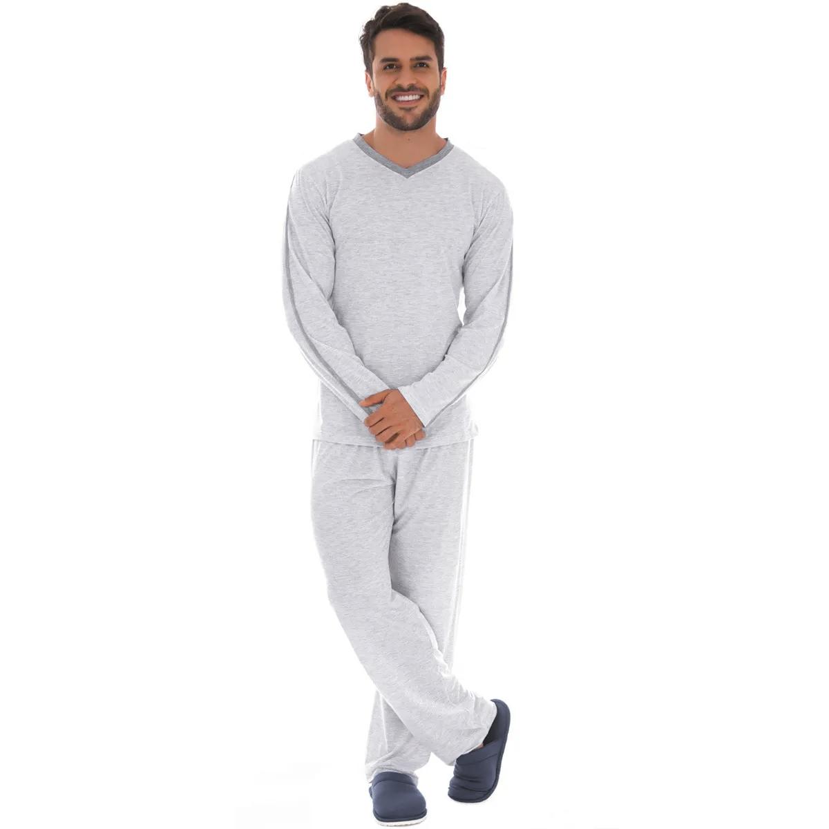 Pijama masculino para o inverno SPORT Victory