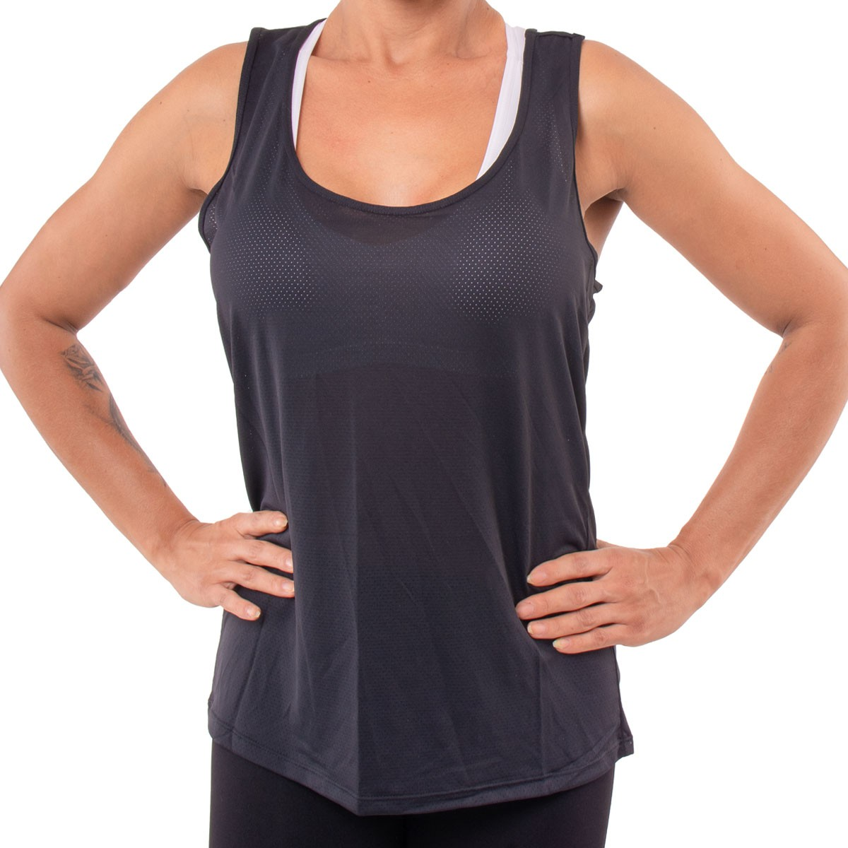 Regata feminina nadador fitness Dry fit Selene