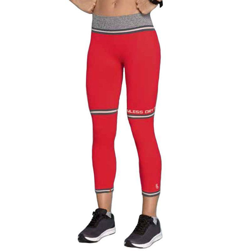 Roupa academia feminina calça legging capri ginástica fitness Lupo
