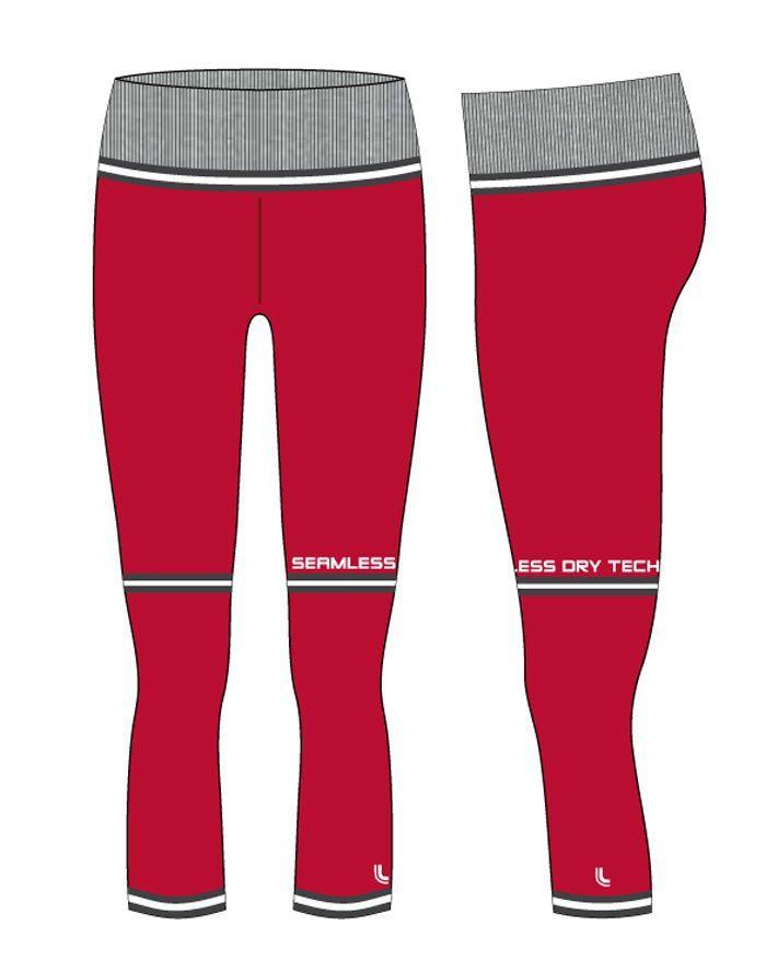 e171b2ab5 ... Roupa academia feminina calça legging capri ginástica fitness Lupo 71584-  - Bra Lingerie ...