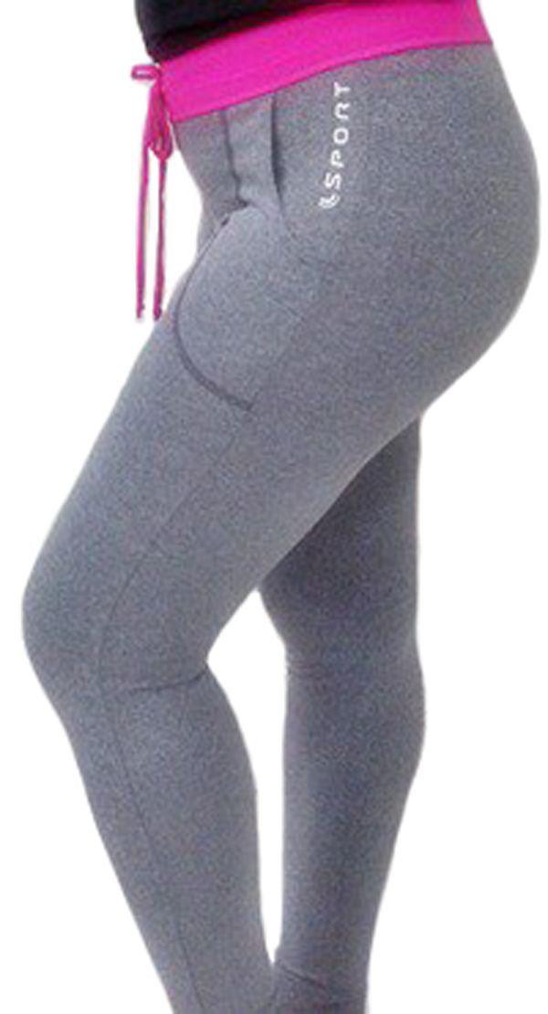 Roupa academia ginástica fitness feminina calça legging Lupo 76335 -