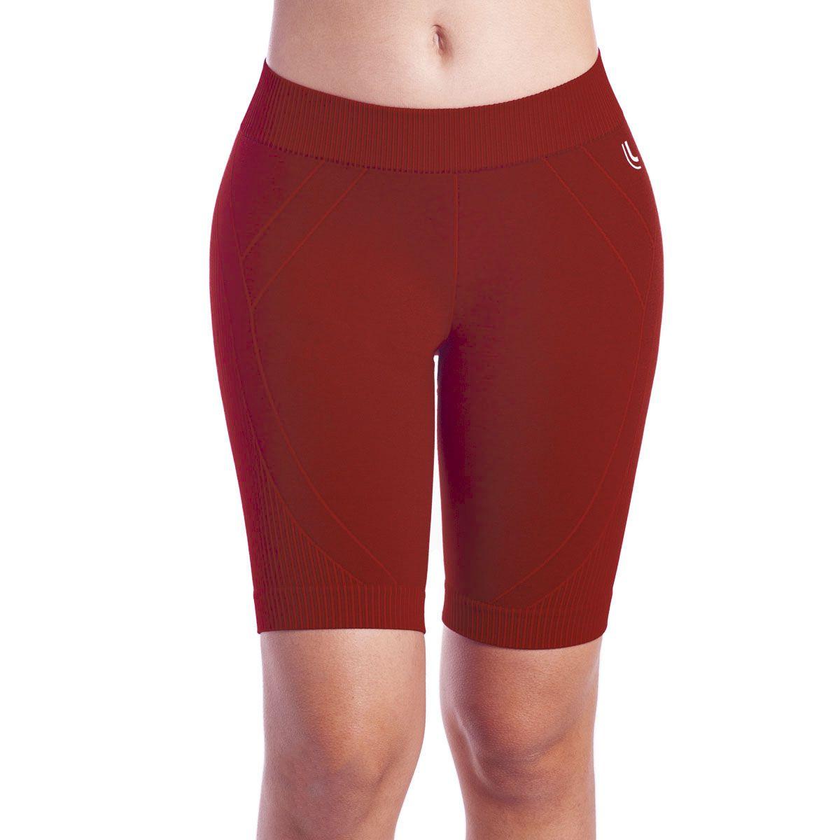 Roupa feminina academia ginástica fitness bermuda Lupo