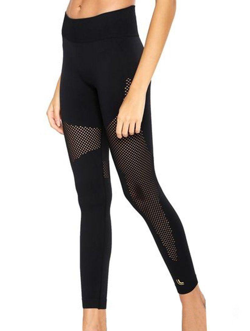 Roupa feminina para academia fitness Calça legging da Lupo 71703