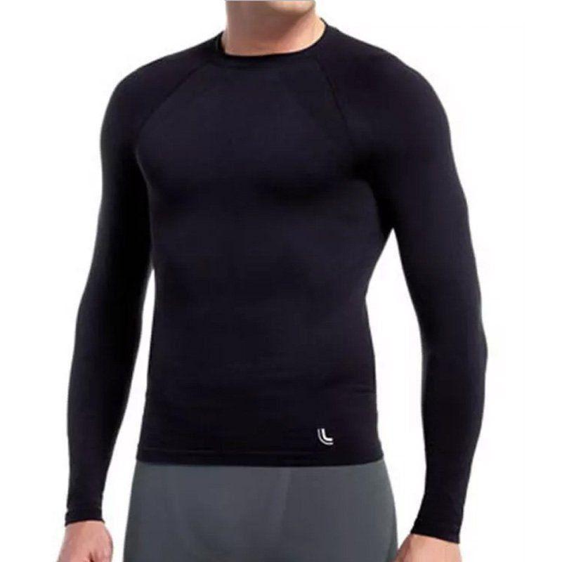 Segunda Pele Térmica Masculina Lupo Camiseta Compressão manga longa