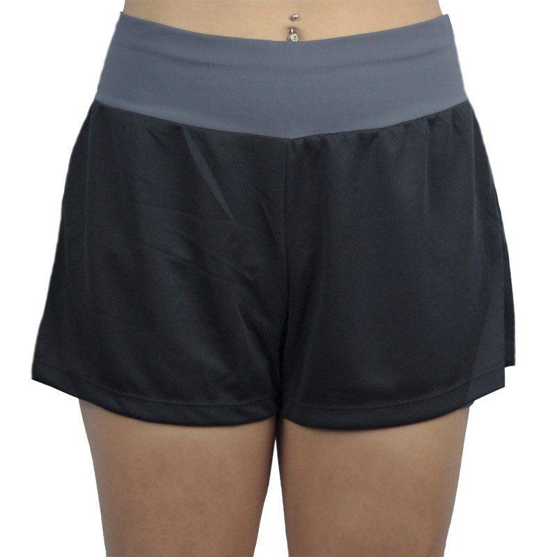 Short Duplo Fitness Feminino Lupo