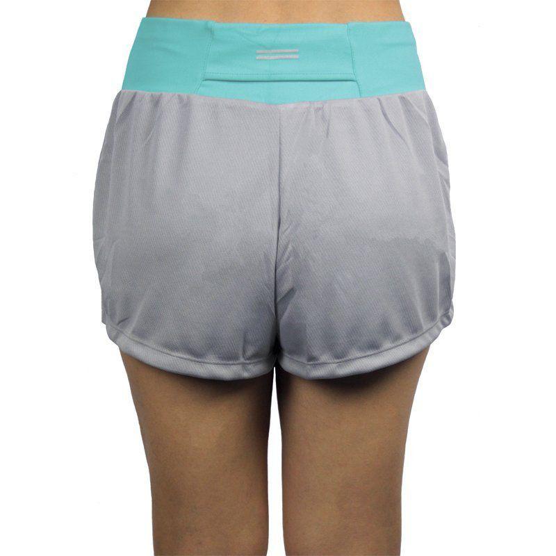 Short Duplo Fitness Feminino Lupo Ref 76396
