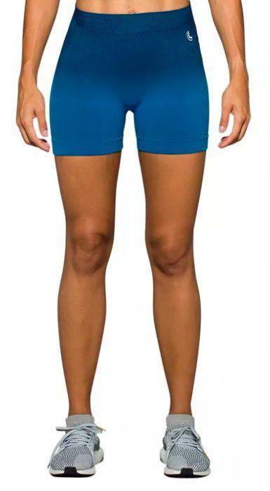 Short feminino modelo degrade para Academia fitness Lupo  .