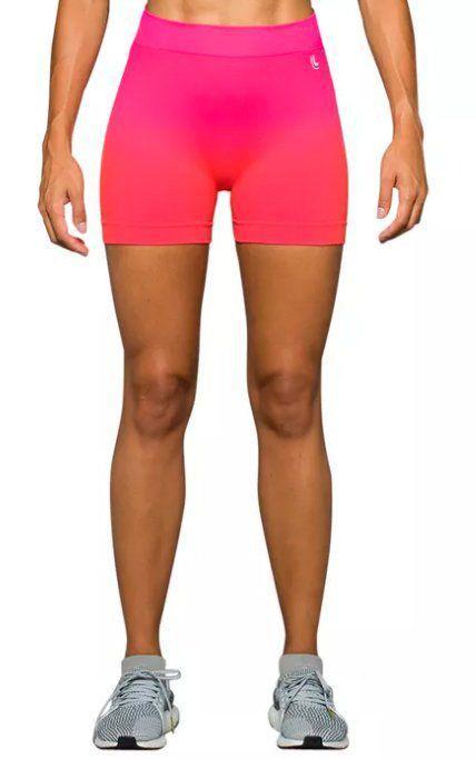 e873c3fa7 Short feminino modelo degrade para Academia fitness Lupo Ref. 71338 .