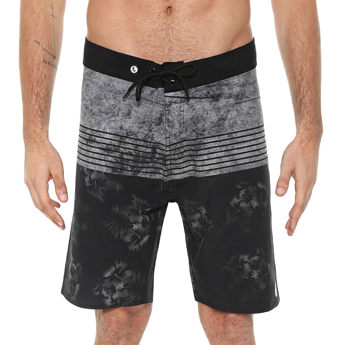 Short Longo Masculino Estampado Lupo Beachwear