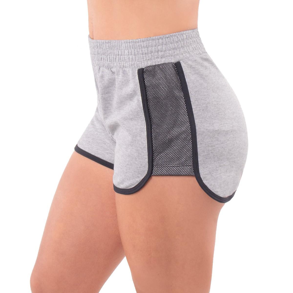 Shorts feminino fitness moletinho Selene