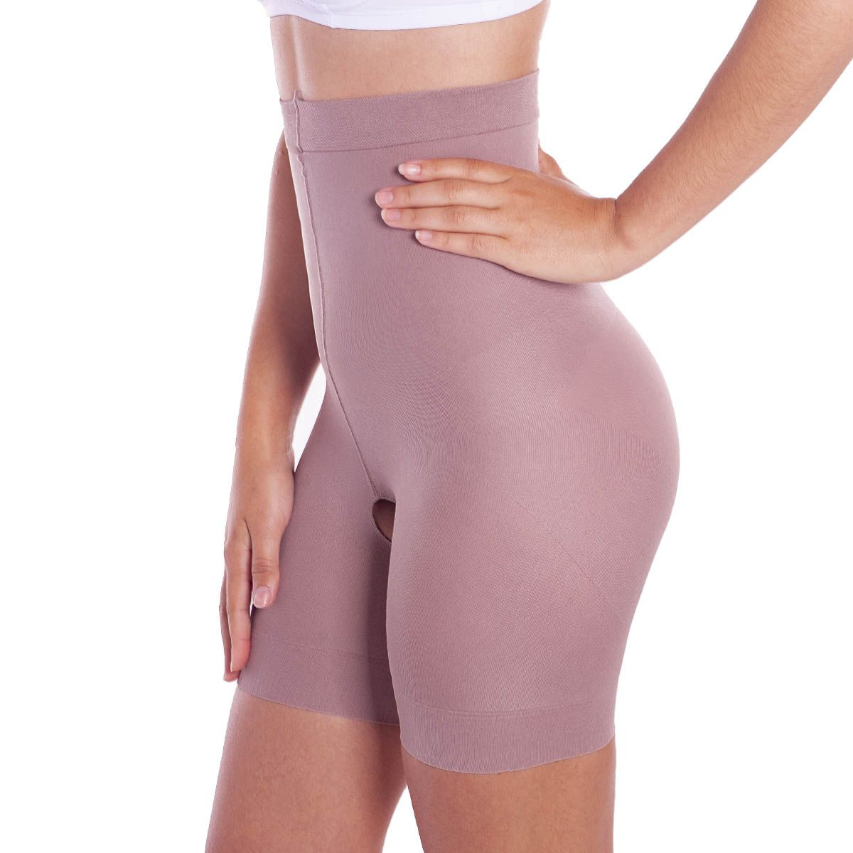 Shorts Slim modeladora para Afinar a cintura com abertura higiênica Loba Lupo